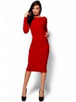 Платье «Лола» красного цвета