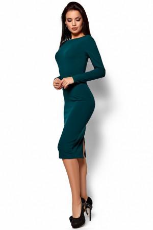 Платье «Лола» темно-зеленого цвета