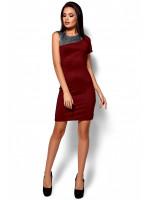 Платье «Зара» бордового цвета