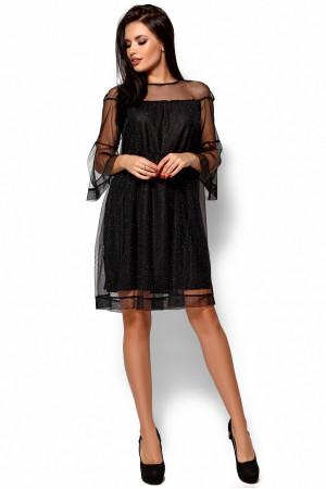 Платье «Иви» черного цвета