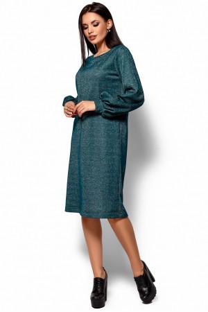 Платье «Нино» темно-зеленого цвета