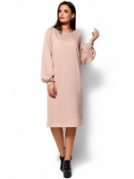 Платье «Нино» бежевого цвета