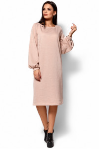 Сукня «Ніно» бежевого кольору