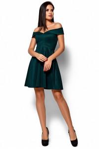 Платье «Айла» темно-зеленого цвета