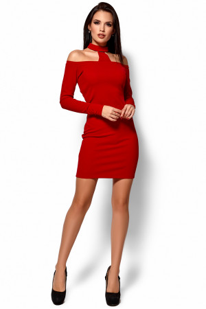 Сукня «Юліана» червоного  кольору