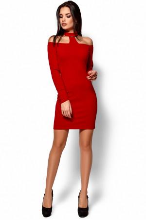 Платье «Юлиана» красного цвета