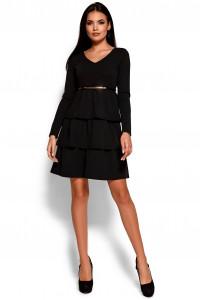 Сукня «Шарліз» чорного кольору