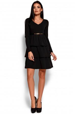 Платье «Шарлиз» черного цвета