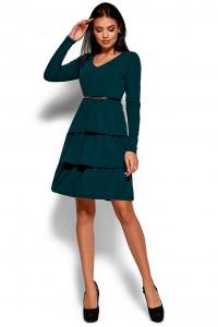 Сукня «Шарліз» темно-зеленого кольору