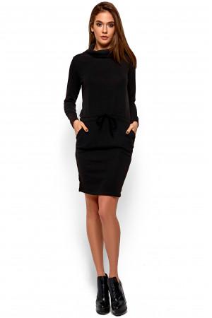 Платье «Дилара» черного цвета