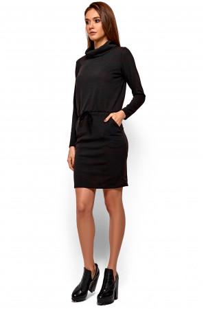 Сукня «Ділара» чорного кольору