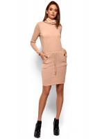 Платье «Дилара» бежевого цвета