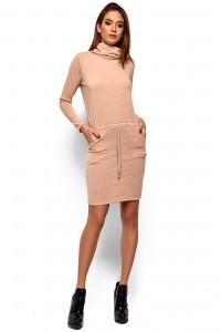 Сукня «Ділара» бежевого кольору