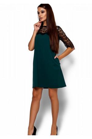 Сукня «Ангола» темно-зеленого кольору
