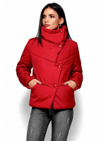 Жіноча куртка «Стелла» червоного кольору