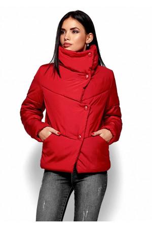 Женская куртка «Стелла» красного цвета