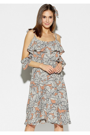 Сукня «Романтика» бежевого кольору