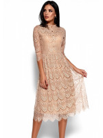 Платье «Шанти» бежевого цвета
