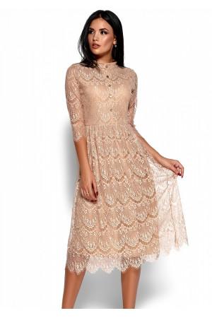 Сукня «Шанті» бежевого кольору