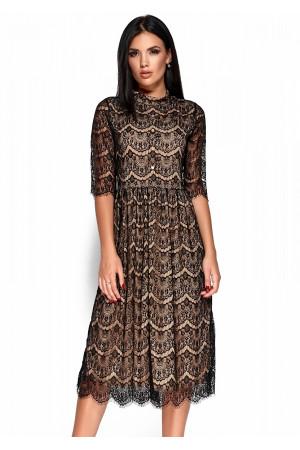 Платье «Шанти» черного цвета