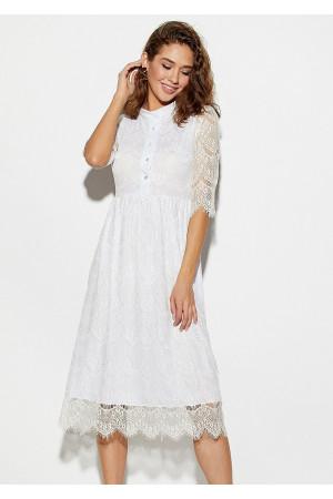 Платье «Шанти» белого цвета