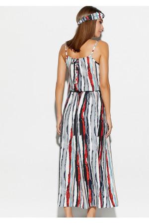 Платье «Райт» красного цвета