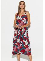 Платье «Лилиан» цвета марсала