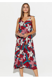 Сукня «Ліліан» кольору марсала