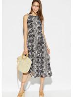 Платье «Конго» серого цвета