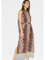 Платье «Конго» рыжего цвета