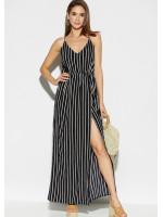 Платье «Санторини» черного цвета