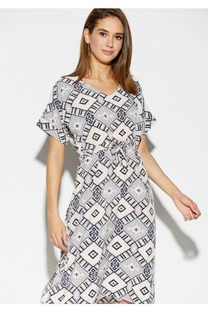 Сукня «Антонія» з комбінованим принтом