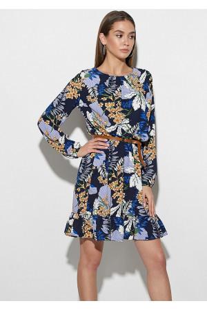 Платье «Сальма» темно-синего цвета