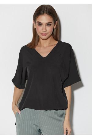 Блуза «Токио» черного цвета