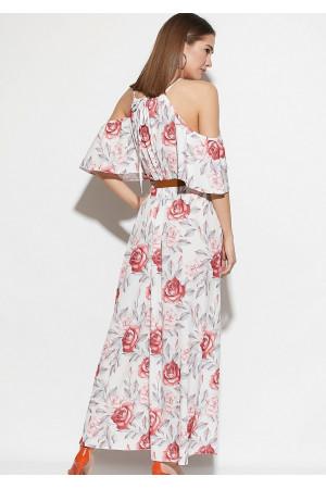 Сукня «Індиго» білого кольору