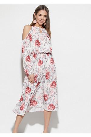 Сукня «Дельта» білого кольору