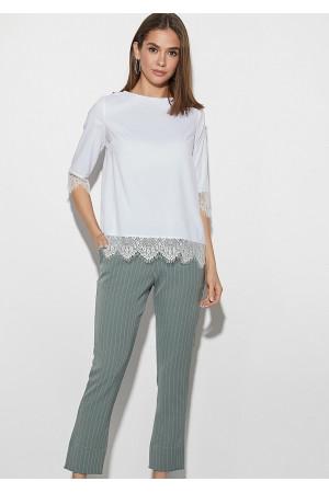 Блуза «Мері» білого кольору