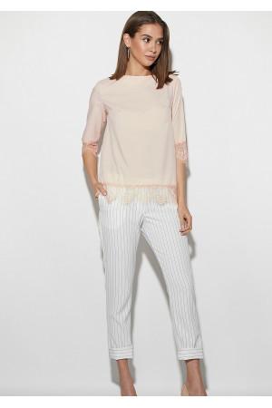 Блуза «Мері» персикового кольору