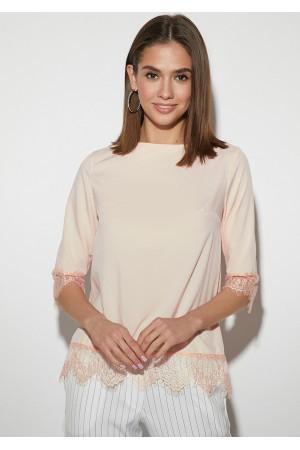 Блуза «Мэри» персикового цвета