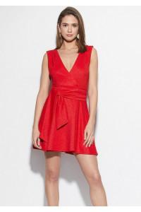 Платье «Лия» красного цвета