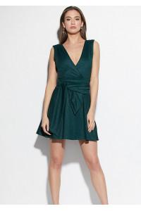 Платье «Лия» темно-зеленого цвета