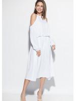 Платье «Трофи» белого цвета