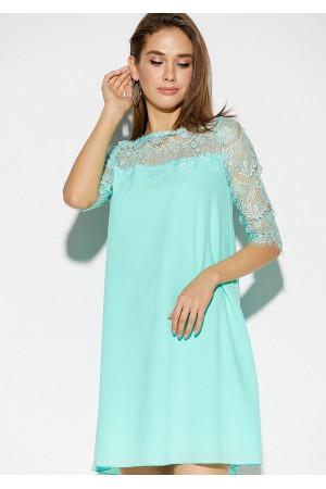 Платье «Скай» ментолового цвета