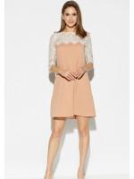 Сукня «Скай» бежевого кольору