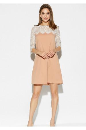 Платье «Скай» бежевого цвета