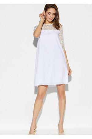Платье «Скай» белого цвета