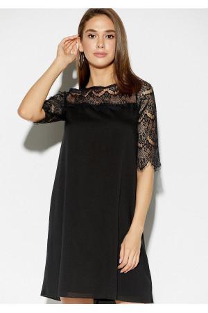 Платье «Скай» черного цвета