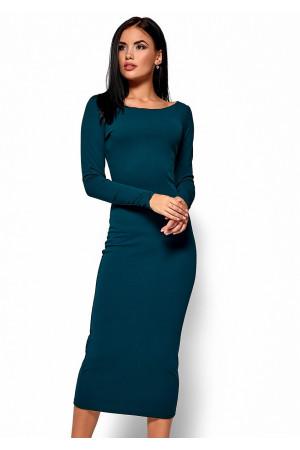Сукня «Раміна» темно-зеленого кольору