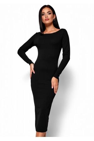 Платье «Рамина» черного цвета