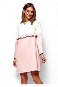 Платье «Ванесса» цвета пудры